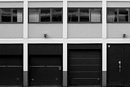 Urban Scenery : Garageports And Windows
